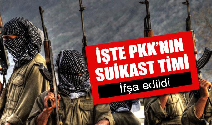 İşte PKK'nın suikast timi