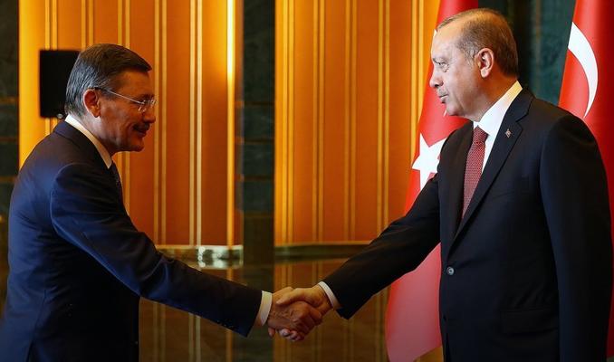Melih Gökçek, Erdoğan ile görüştü