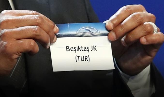 Beşiktaş'ın Şampiyonlar Ligi rakibi belli oldu