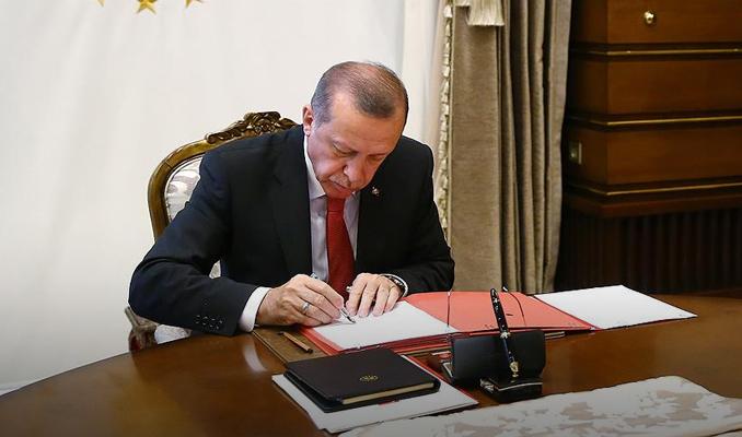 Erdoğan'dan YSK kanununa onay