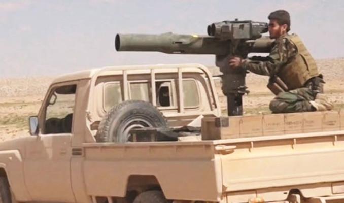 Afrin'e tanksavar yağıyor