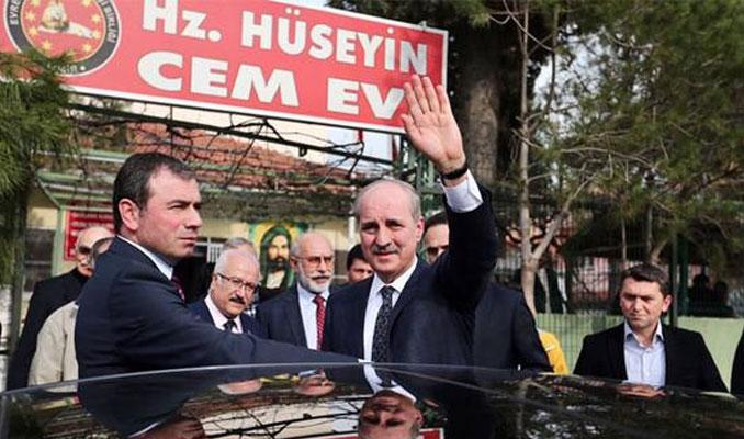 AK Partili Kurtulmuş cemevi ziyaret etti