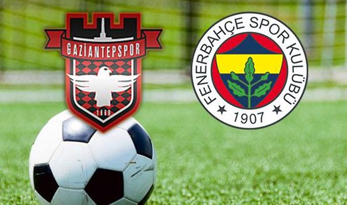 Fenerbahçe G.Antep'te 2 puanı bıraktı