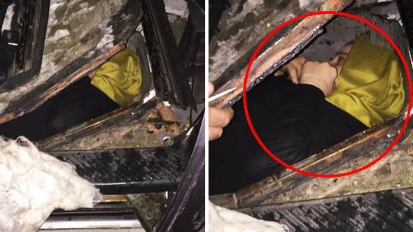 Kadın FETÖ'cü Gürcistan sınırında böyle yakalandı