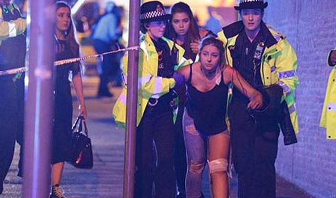 Manchester Arena'da patlama! 22 ölü