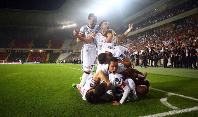 Beşiktaş 25 yıllık hasreti dindirdi