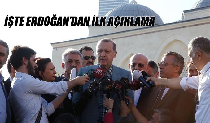 Erdoğan kısa süreli bir rahatsızlık yaşadı