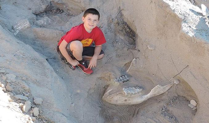 9 yaşındaki çocuktan 1.2 milyon yıllık keşif