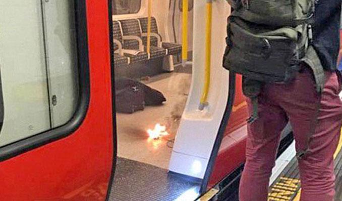 Londra metrosunda patlama meydana geldi