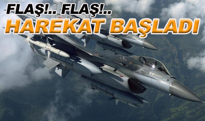Afrin harekatı başladı, Türk jetleri PKK'yı bombalıyor