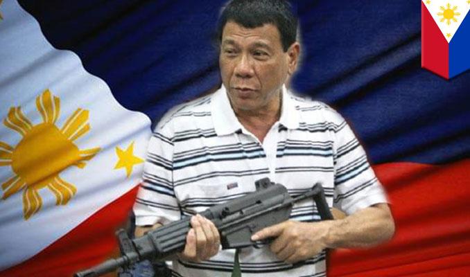 Filipinler Başkanı'ndan şok çağrı! Beni vurun