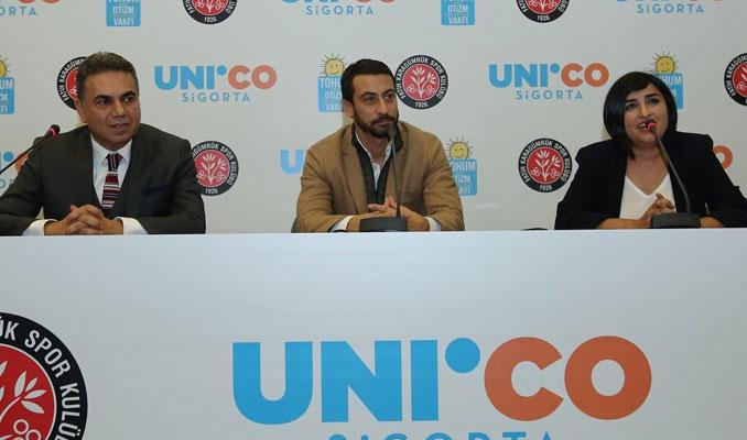 Tohum Otizm Vakfı'na Karagümrük Spor ve Unico Sigorta'dan anlamlı destek