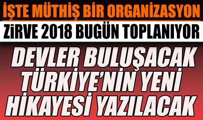 Devler, 'Türkiye'nin Yeni Hikayesi'ni yazıyor