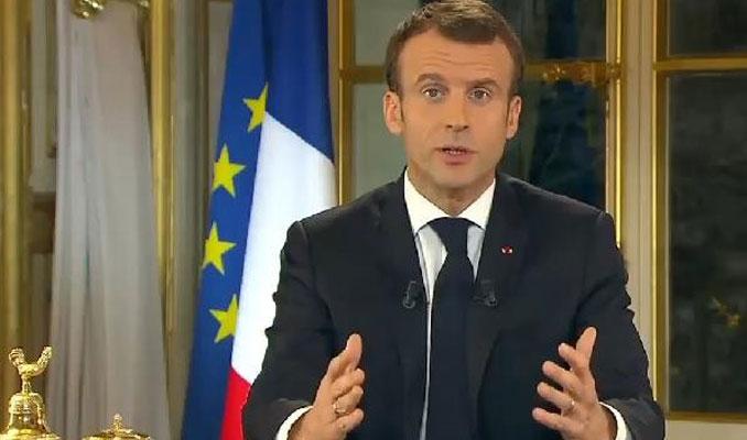Macron'un konuşuması Fransızların yüzde 59'unu ikna edemedi