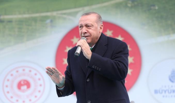 Erdoğan: Umarız duvarlarda 'zulüm 1789'dabaşladı' yazılmaz