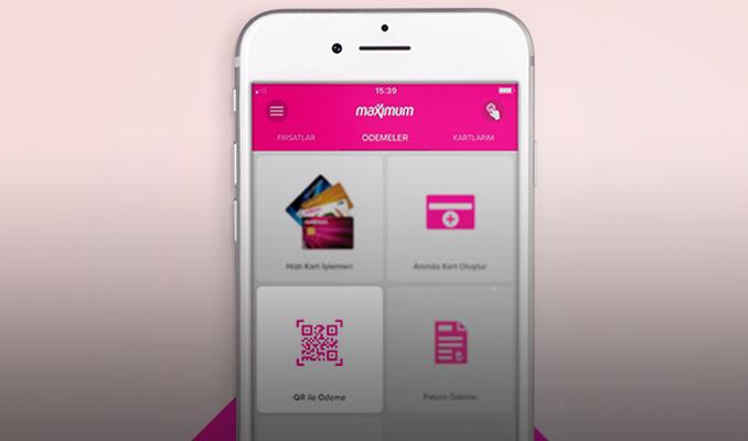 Maximum Mobil'de QR kod ile alışveriş kolaylığı