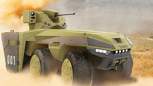 SSM'de insansız tank için ilk adım