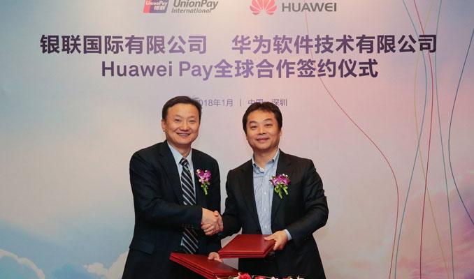 Huawei, UnionPay ile mobil ödeme işbirliğine gitti