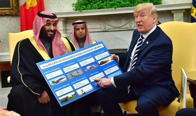 Trump: Riyad, ABD için büyük müşteri