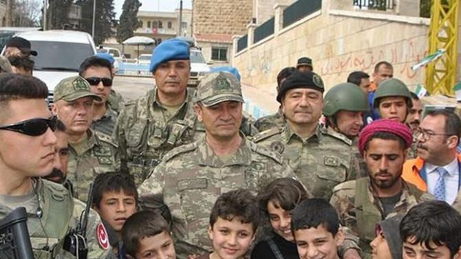 2. Ordu Komutanı Temel Afrin'de