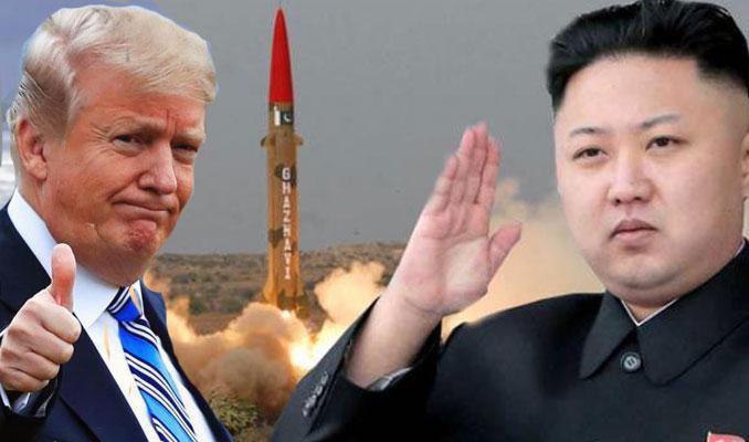 Trump'tan Kuzey Kore çıkışı!