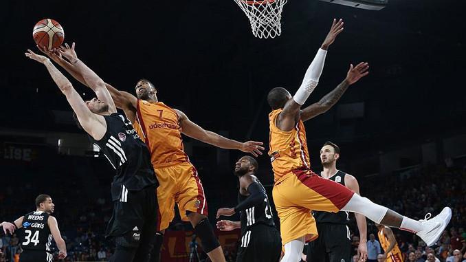 Galatasaray, Beşiktaş'ı 77-73 yendi
