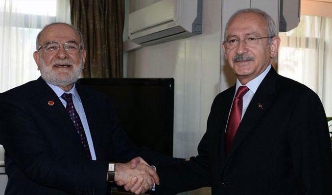 Kılıçdaroğlu ile Karamollaoğlu'ndan ittifak zirvesi