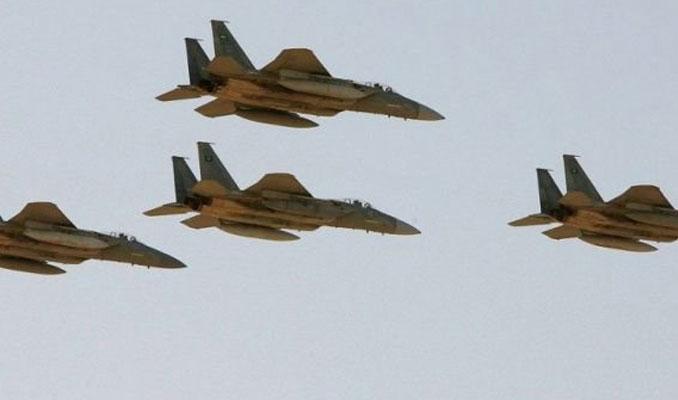 Suudi Arabistan'dan hava saldırısı