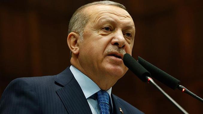 Erdoğan'dan sert sözler