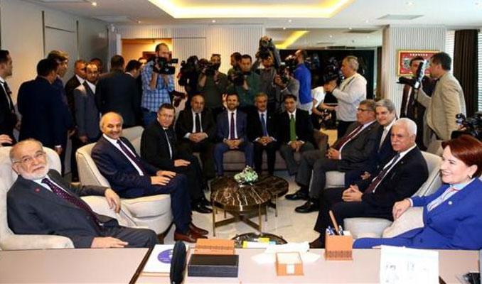 Kritik Akşener ve Karamollaoğlu görüşmesi sona erdi