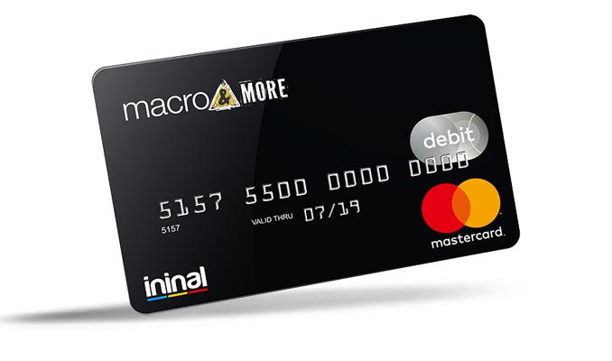 Macro&More Kart ile ininal kartlar artık Macrocenter'larda