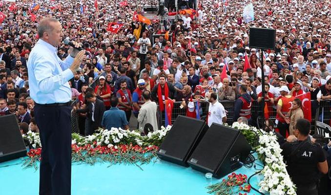 Erdoğan Yenikapı'dan İnce'ye seslendi