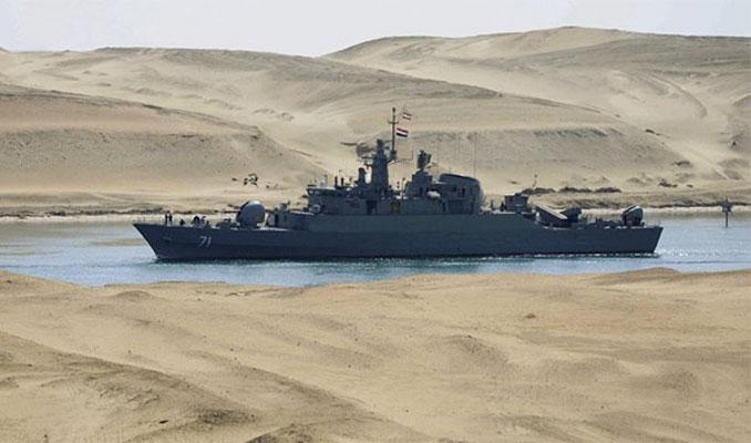 İran savaş gemilerini gönderdi