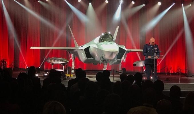 F-35'ler teslim edildi