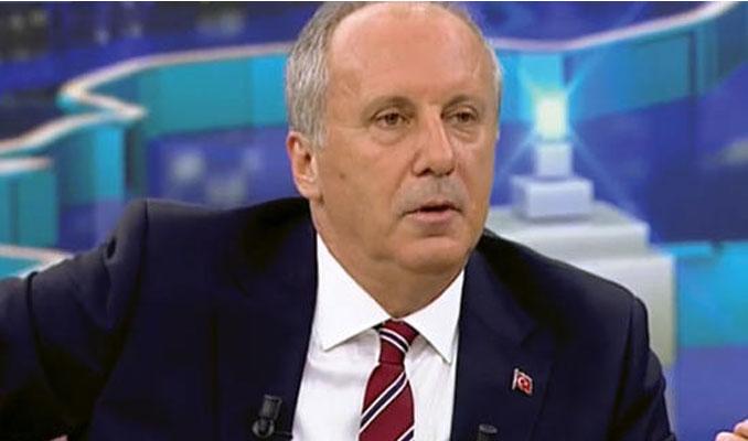 İnce: Erdoğan'ın seçimi kazandığını kabul ediyorum