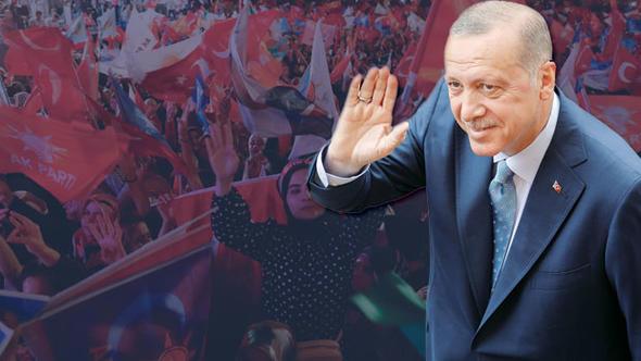 Cumhurbaşkanı Erdoğan'dan ilk turda zafer