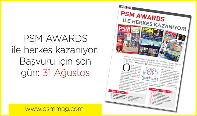 En inovatif şirketler PSM AWARDS için yarışıyor!