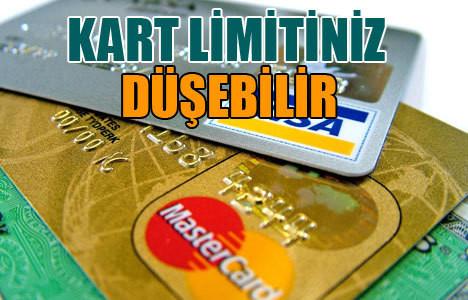 Kredi kartı sahiplerine şok