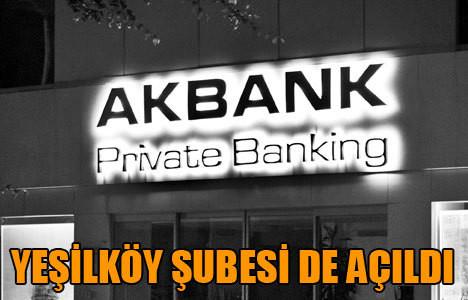 Akbank Private Banking şubesi açıldı