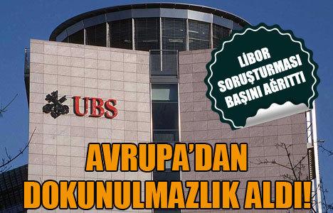 UBS dokunulmazlığa büründü