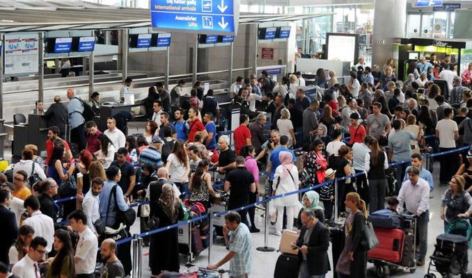 Havalimanında sistem çöktü!