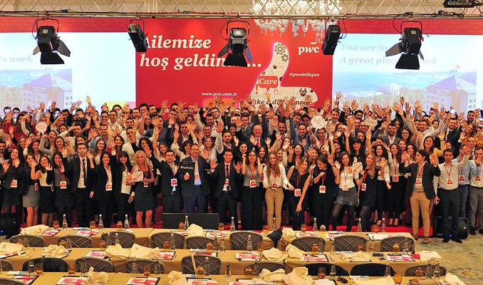 PwC Türkiye'nin 243 yeni pırlantası işbaşı yaptı