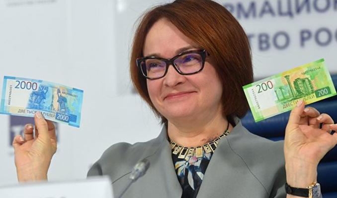 200 ve 2000 rubleler piyasaya sunuluyor