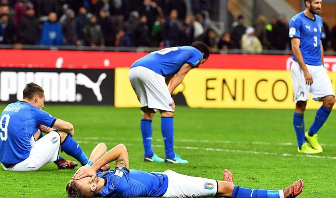 İtalya'ya Dünya Kupası şoku
