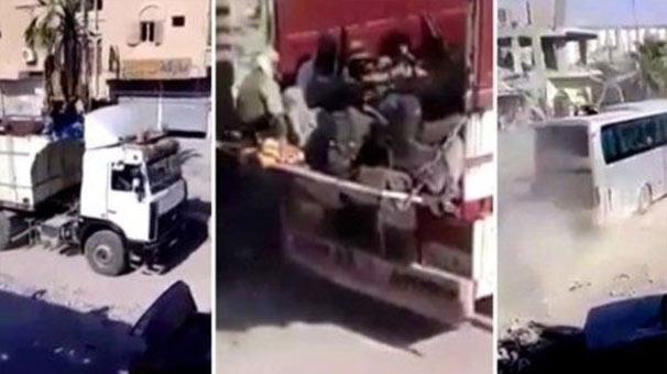 Rakka'daki DEAŞ'lılara ABD ve YPG korumasında tahliye