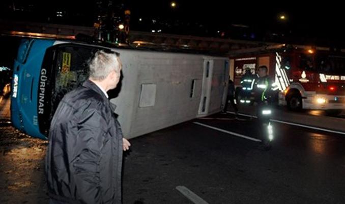 İstanbul'da zincirleme kaza!