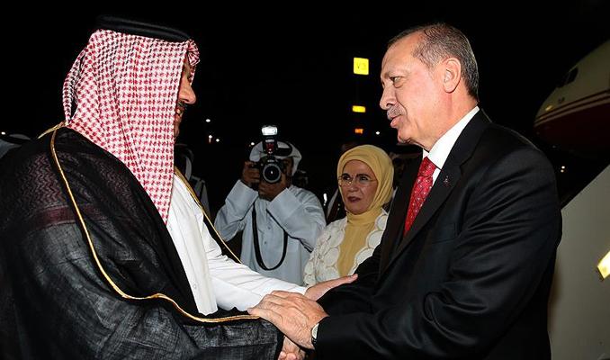 Cumhurbaşkanı Erdoğan'dan önemli temaslar