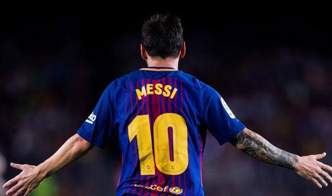 Barcelona'da Messi depremi
