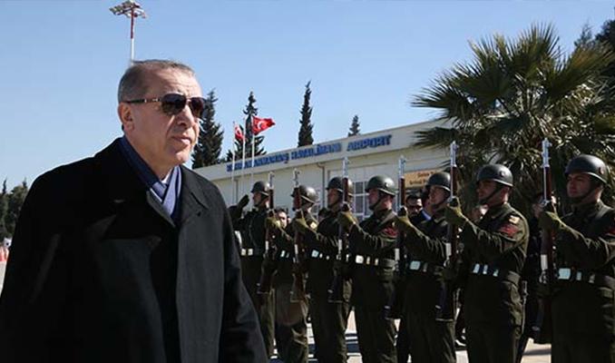 Erdoğan Türkiye'ye geldi