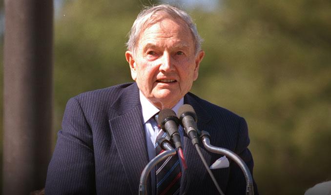Ünlü iş adamı David Rockefeller hayatını kaybetti